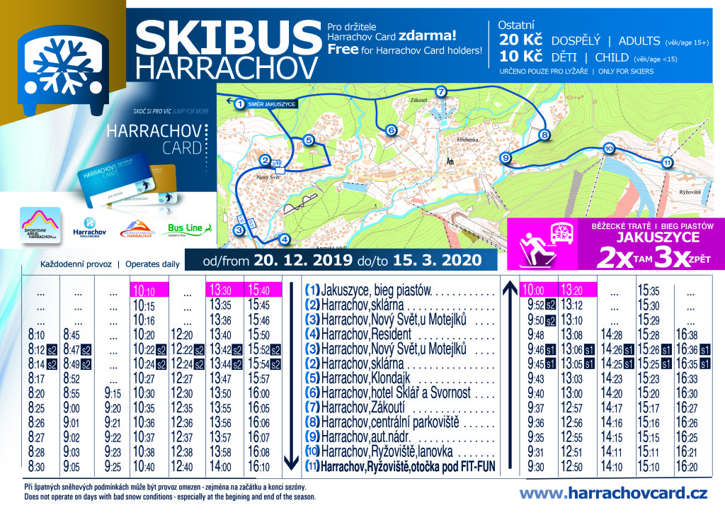 Ski Bus Harrachov 2018 19 A4